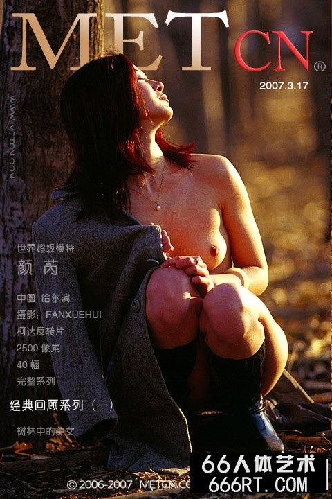 《树林中的靓女》颜芮07年3月17日作品